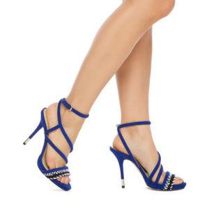 1d8651826b9 gx Gwen Stefani Hoshi High Heels Sandals 6.5 New